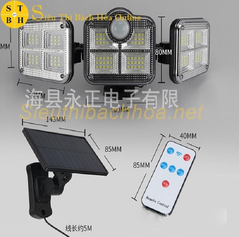 Đèn cảm biến chống trộm năng lượng mặt trời