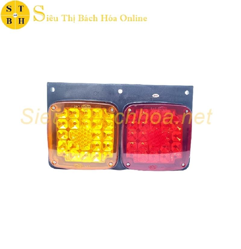 Đèn hậu xe tải sẽ được bật sáng cùng lúc với đèn pha của xe