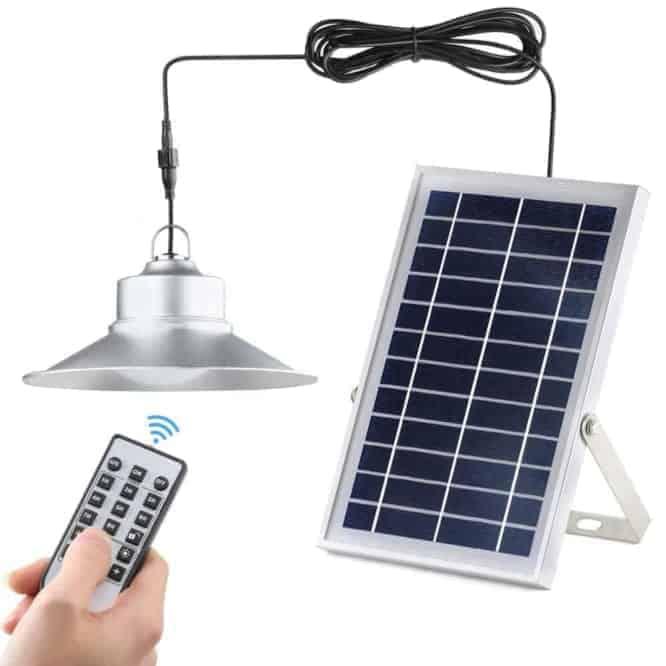 Cấu tạo – hoạt động của đèn năng lượng mặt trời trong nhà