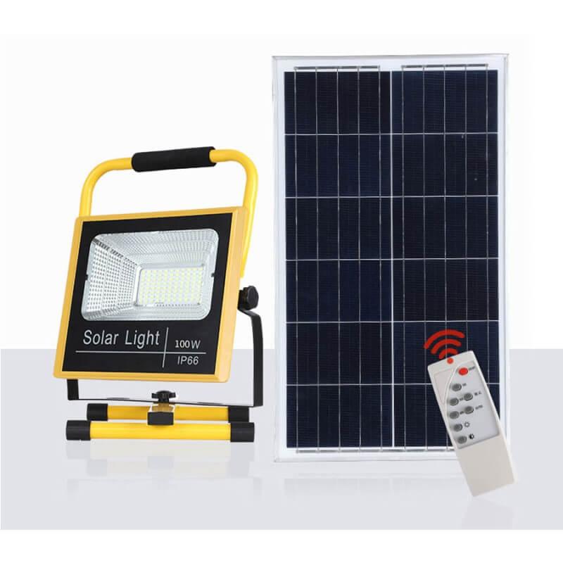 Ưu điểm của đèn pha năng lượng mặt trời