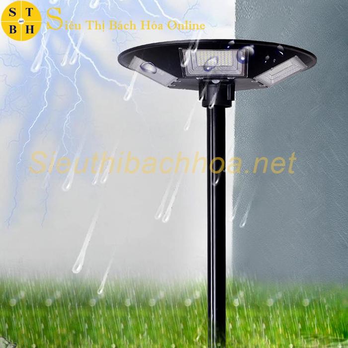 Đèn trụ sân vườn năng lượng mặt trời UFO 300W
