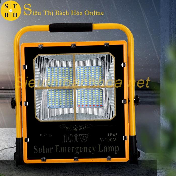 Đèn Xách Tay Năng Lượng Mặt Trời Y-100W