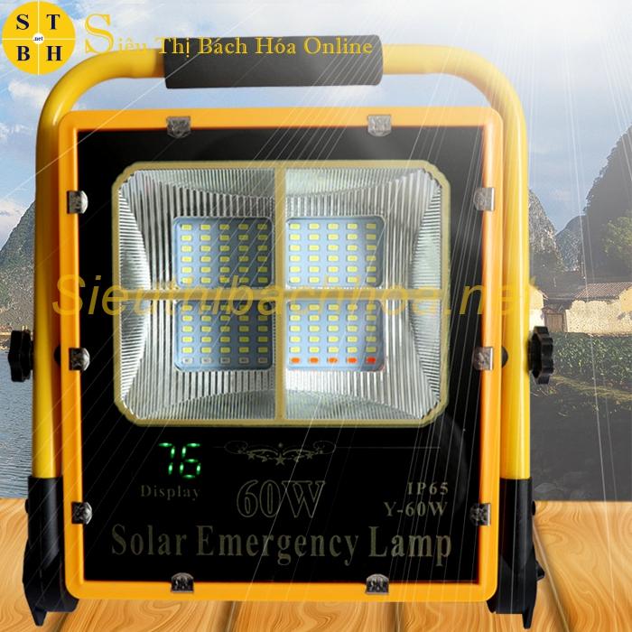 Đèn Xách Tay Năng Lượng Mặt Trời Y-60W