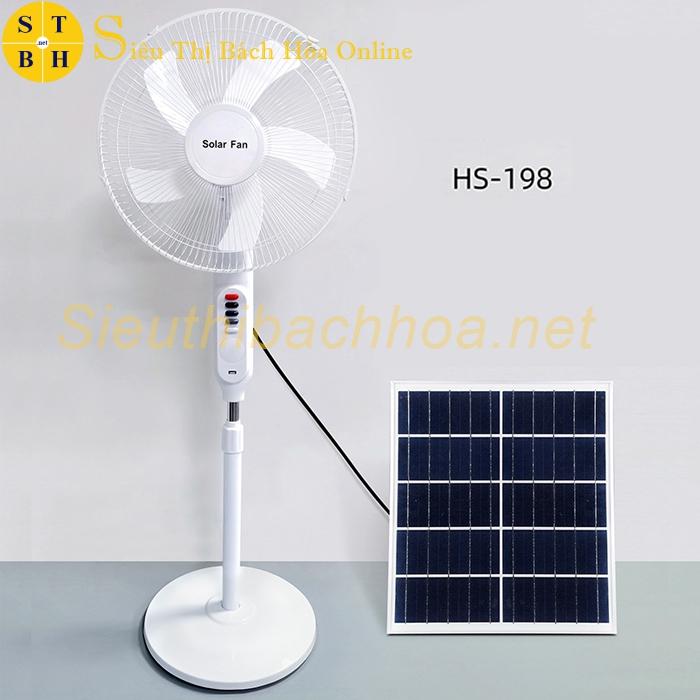 Quạt Năng Lượng Mặt Trời HS - 198