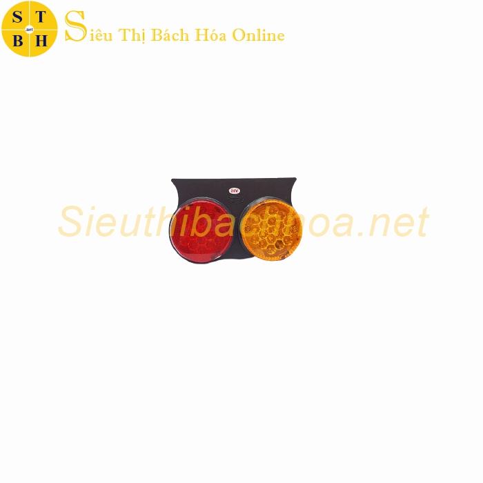 Đèn Hông Đôi Tròn Dẹp LED Xe Tải H85 (12V-24V)