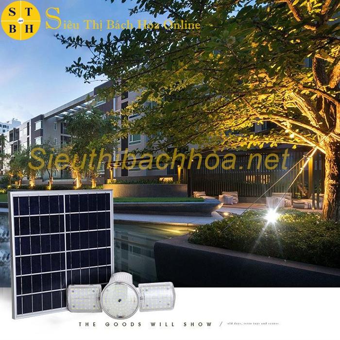 Đèn mái hiên H18W năng lượng mặt trời trong nhà