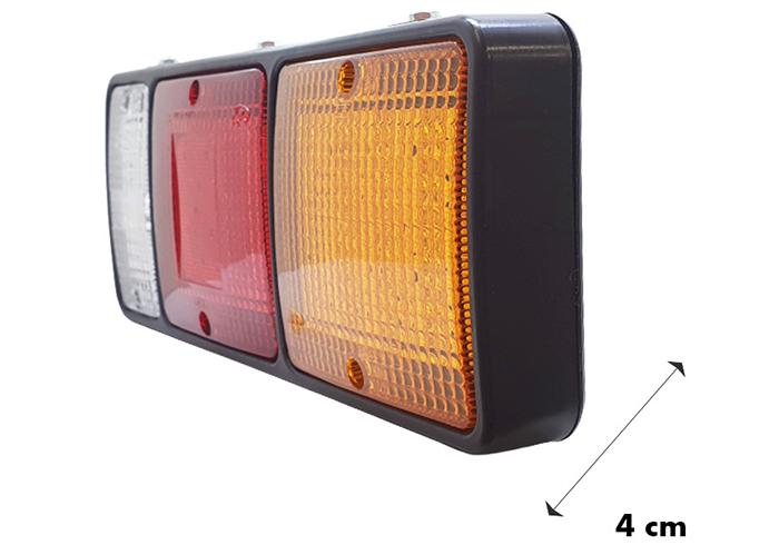 Kích thước chiều sâu đèn hậu xe tải HyunDai L07