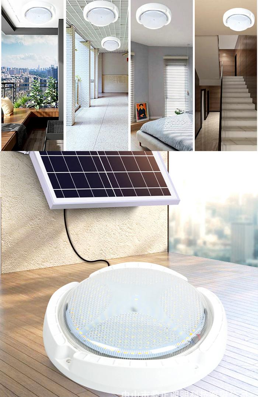 Đèn ốp trần năng lượng mặt trời