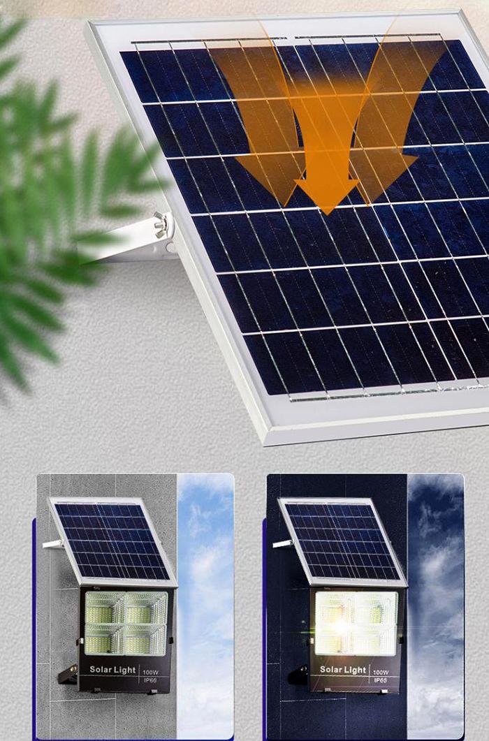 Đèn pha năng lượng mặt trời 200w T-R200/N
